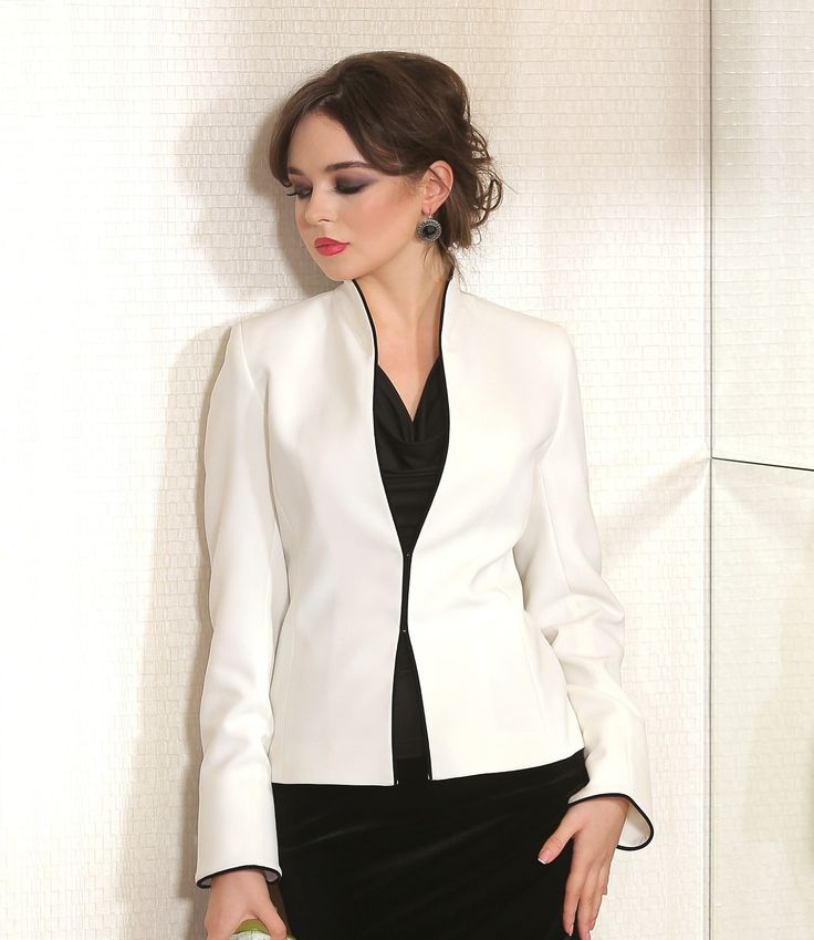 Cream beauty  YOKKO | ss16 #evening #jacket #cream #elegant #yokko #feminiy