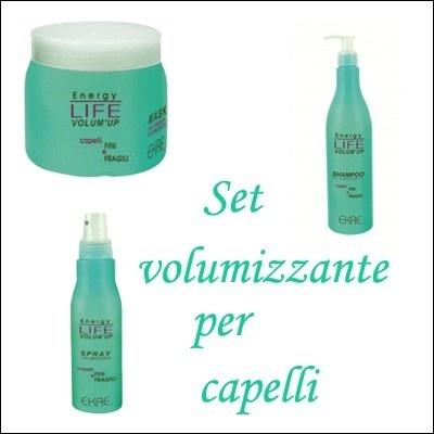 Kit volumizzante per capelli shampoo/maschera/spray 20,00€ - SuQui Shopping by saturnostore
