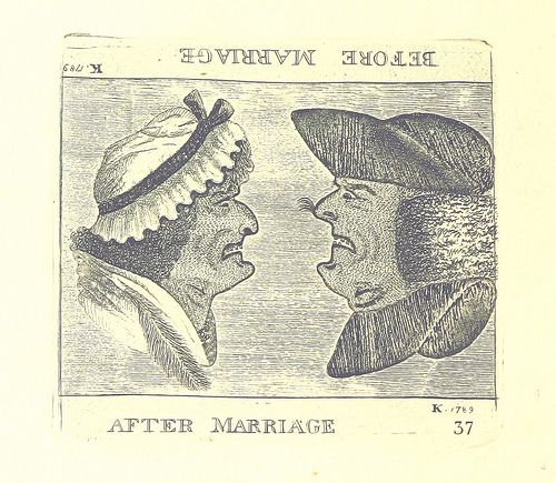 From the Digital Scholarship blog post 'Valentine's Day: The 19th Century Way'.