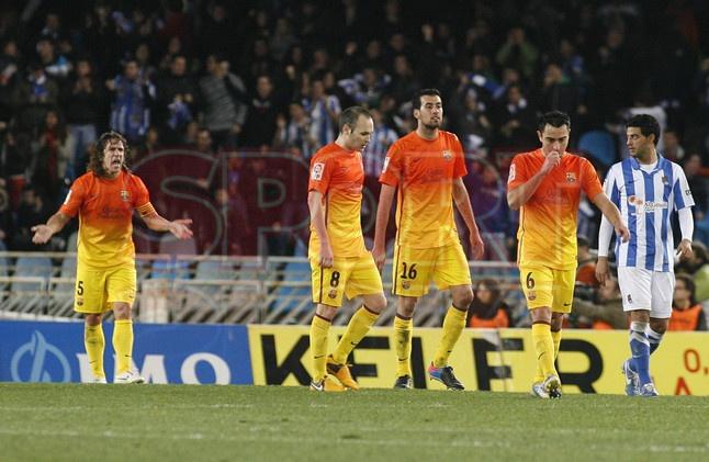 Puyol, FC Barcelona | Real Sociedad, 3 - FC Barcelona, 2. [19.01.13]