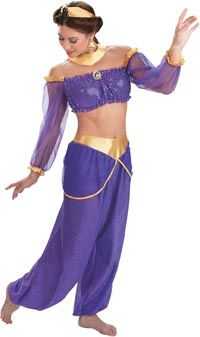 Princess Jasmine Costume - Disney Princess Costumes