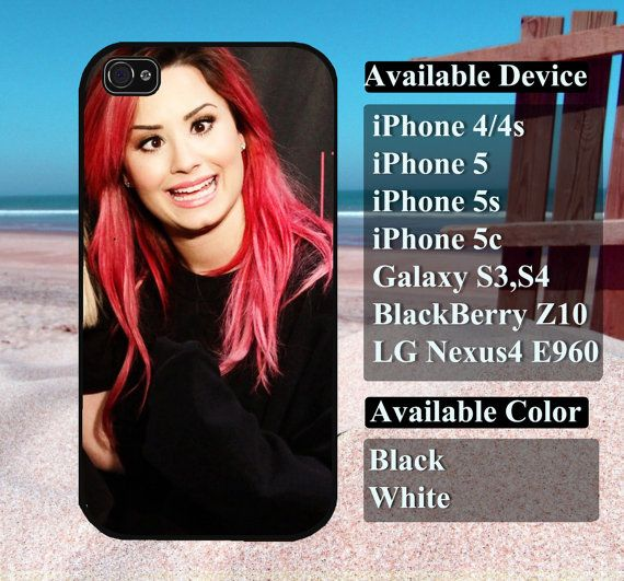 demi lovato case  iPhone 4/4s iPhone5 iPhone5s by vallenshop, $13.50
