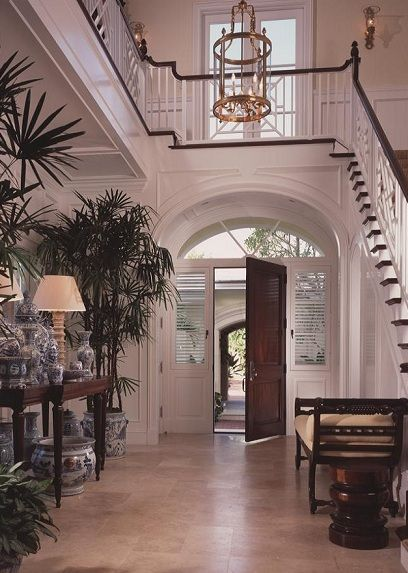 17 Best Images About British Colonial Foyer Entrances On