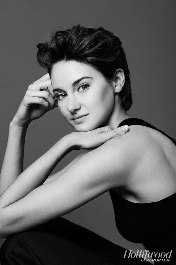 Shailene Woodley // The Hollywood Reporter