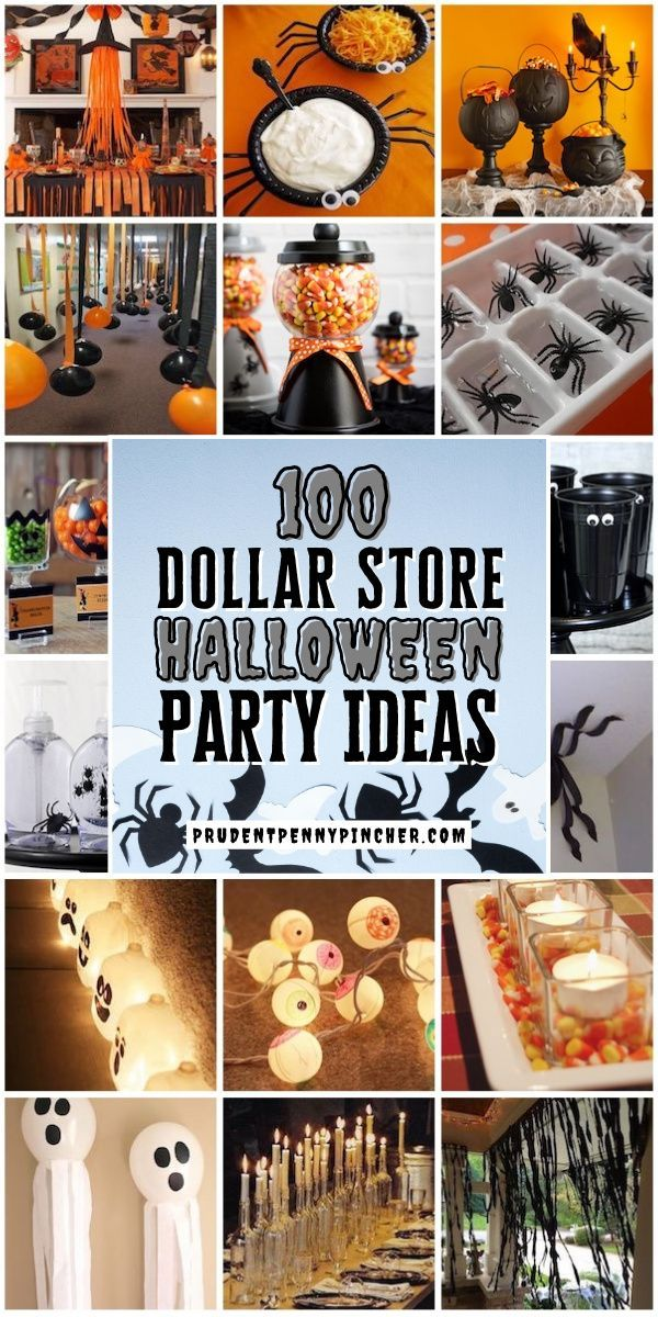 Halloween 2020 Kids Party Ideas 100 Dollar Store Halloween Party Ideas in 2020 | Birthday