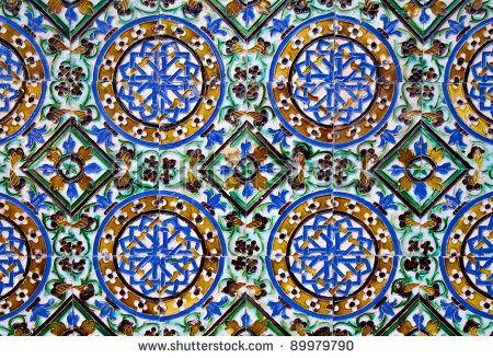 53 best islamic tiling images on pinterest islamic for Azulejos cadiz