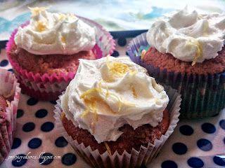 Lemon cupcakes / Babeczki cytrynowe