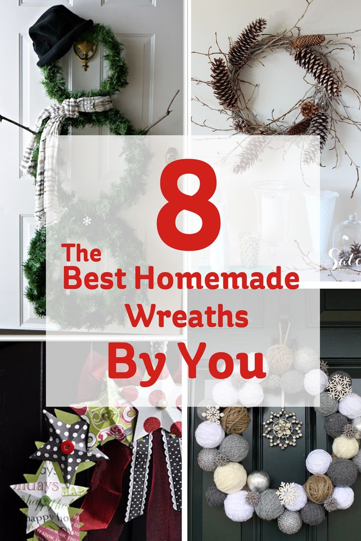 8 of the best homemade wreaths by you!