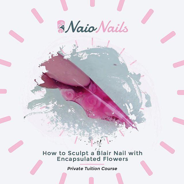 Como esculpir um Blair Nail com flores encapsuladas Confira o Nao Nails Yo …