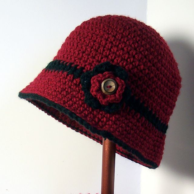 Ravelry: Julia Cloche #Crochet pattern by Vanessa Gribowski