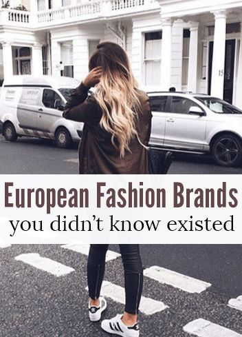 European Clothing Brands You Didn't Know About!