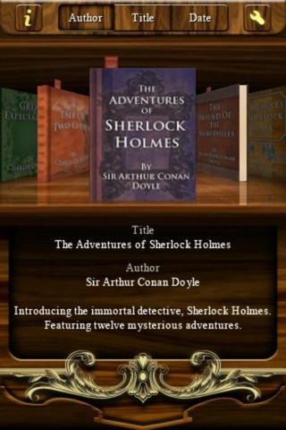 "The Adventures of Sherlock Holmes by Sir Arthur Conan Doyle - I owe a ""Thank you"" to my 5th grade teacher, Mrs. Craddock, for turning me on to Sherlock Holmes : )"
