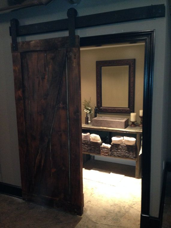 90 Best Images About Bath Barn Doors On Pinterest