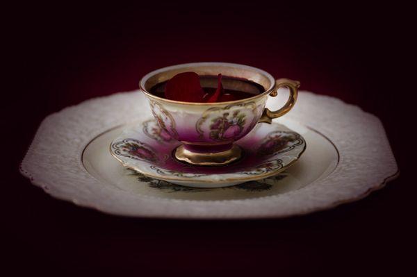 """Blood Tea"" - lightjet photograph by Jonathan Cameron"