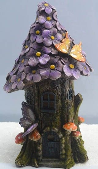 Fairy Flower Solar House