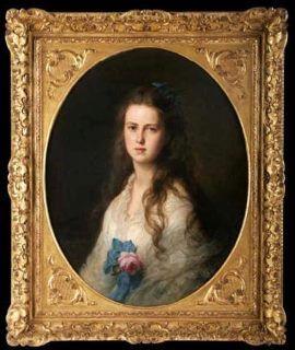 Grand Duchess Maria Alexandrovna of Russia (1853-1920) later Duchess of Edinburgh