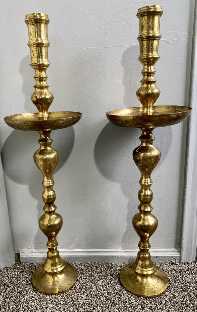 What to do with old brass candlesticks