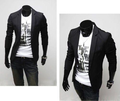 Herren Freizeit business anzug blazer Sakko Jacke Anzug Jacket Gr.S M L Mantel | eBay
