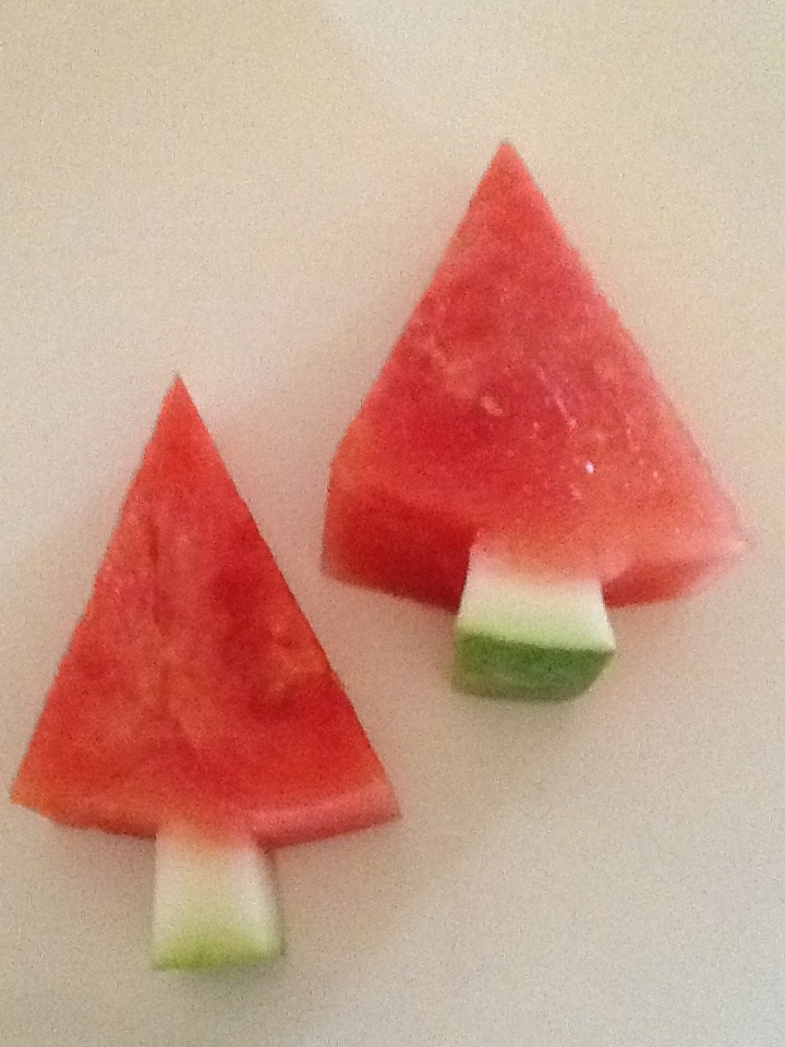 Watermelon Trees: more food ideas for kids on facebook: Yibba Yabba Mama!