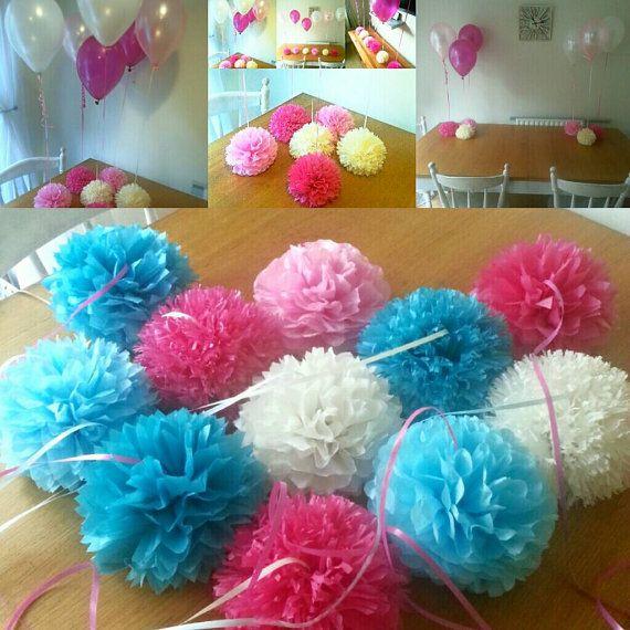 Bruiloft partij babydouche doop ballon gewichten tabel