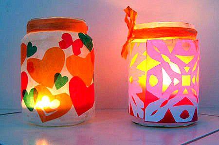 pretty lanterns weihnachten basteln meine enkel und ich. Black Bedroom Furniture Sets. Home Design Ideas