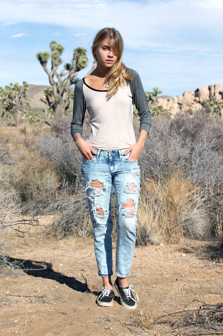 Mathilda Bernmark Wears The Ryans Blue Boyfriend Jean Iweargarage Garage ClothingBoyfriend JeansClothing