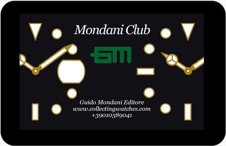 Fidelity card Mondani Club  http://www.collectingwatches.com/mondani-club/