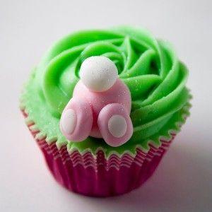 Fotos de cupcakes decorados para Pascua – Imágenes de cupcakes de Pascua- Ideas de cupcakes