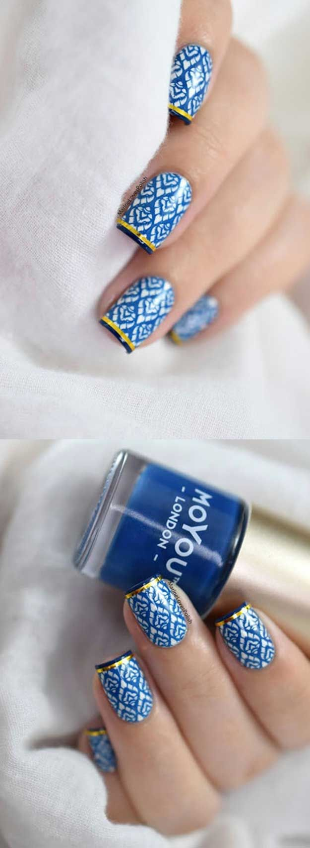 Best 25+ Nail art at home ideas on Pinterest | Easy nail designs ...