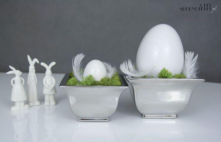 Easter decorations ideas http://cityserendipity.pl/lifestyle/wielkanocne-dekoracje-jaja-piora-i-mech/