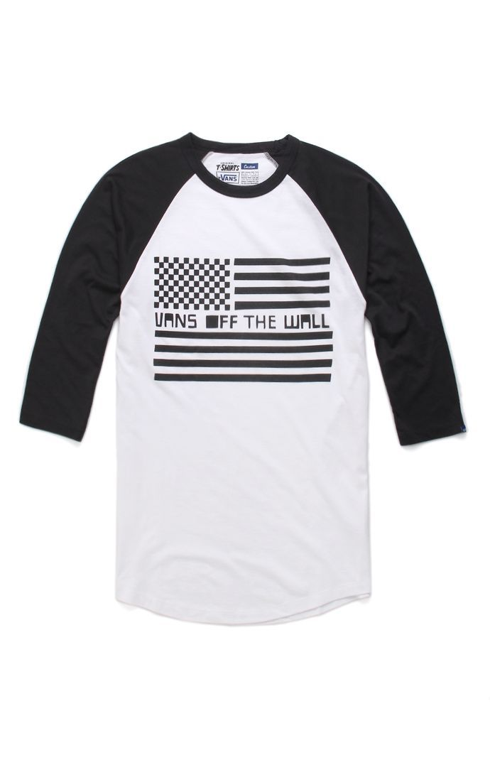 Vans Allied Skates Raglan T-Shirt