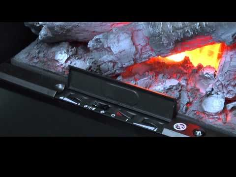 ▶ Glen Dimplex Electric fires - how it works - YouTube