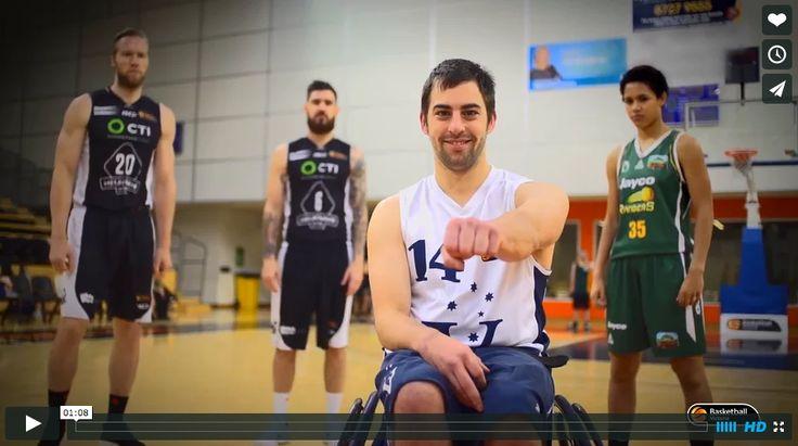 #BasketballVictoria Diversity Advertisement Filming