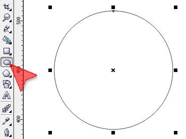 Jeżeli w programie CorelDRAW chcesz narysować okrąg...