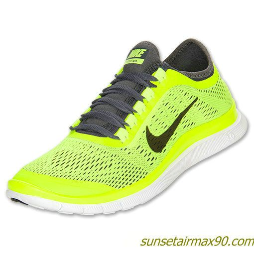 Buy Nike Free Mens Volt Dark Grey White 580393 701 with best discount.All Nike  Free Mens shoes save up.