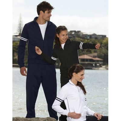 Mens Wicked Fabric Jacket Min 25 - 57.5/42.5 cotton poly 280gsm fabric with a ribbed collar. http://www.promosxchange.com.au/mens-wicked-fabric-jacket/p-11100.html