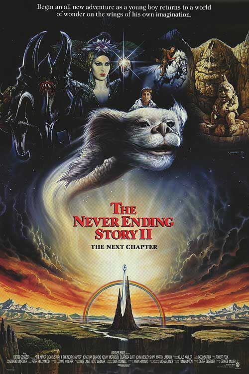 The Neverending Story II: The Next Chapter Movie Poster - Internet Movie Poster Awards Gallery
