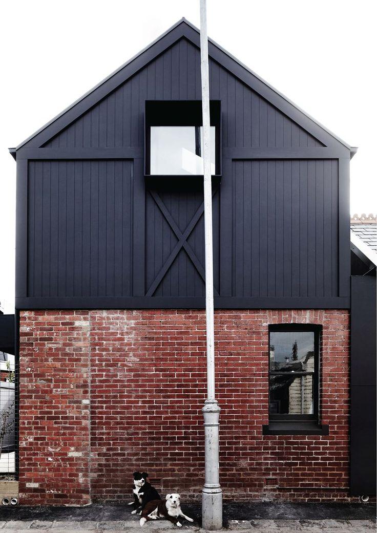 KERFERD, Albert Park, 2013 by Whiting Architects #dog #house #bricks