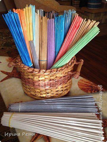 Мастер-класс Материалы и инструменты Плетение Мастер класс кручения бумажных трубочек для новичков Бумага газетная Трубочки бумажные фото 1
