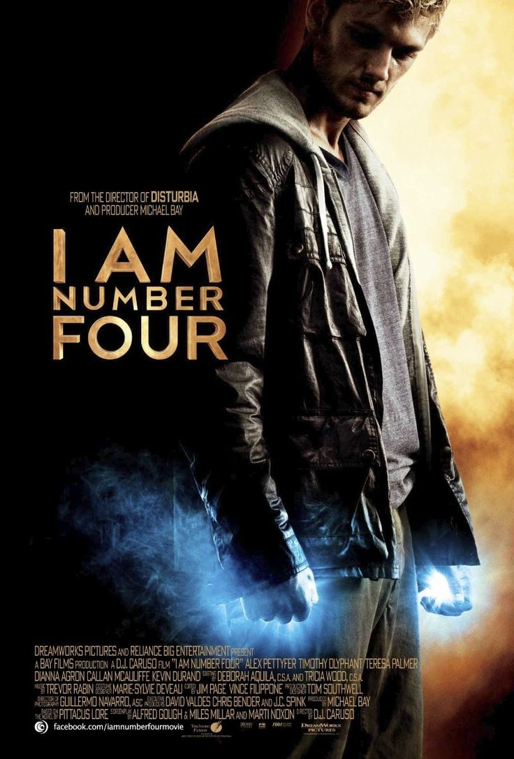 I Am Number Four -- (2011) A young man with extraordinary powers is next in line to be killed by a ruthless enemy.