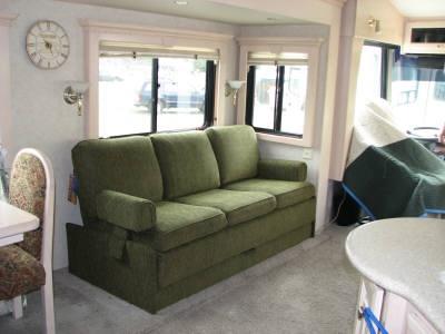 Green Flexsteel Magic Bed Sofa Rv Accessories Sofa