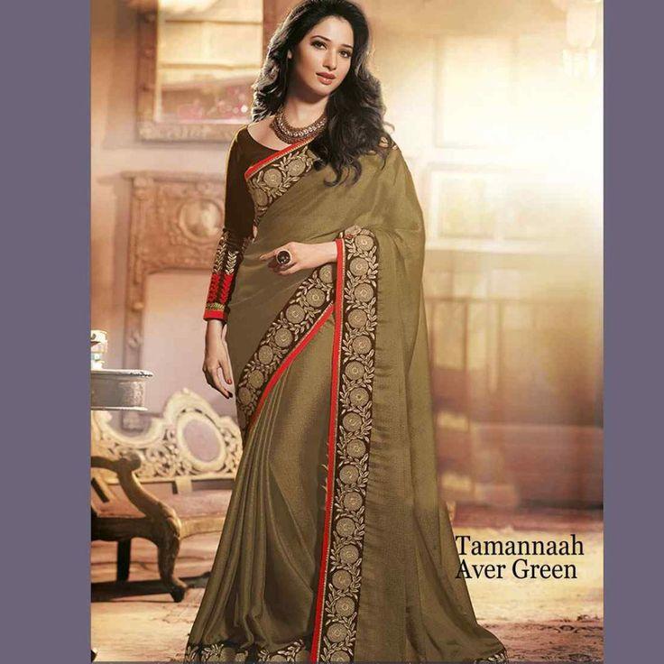 Georgette Partywear Indian Bollywood Replica Sari