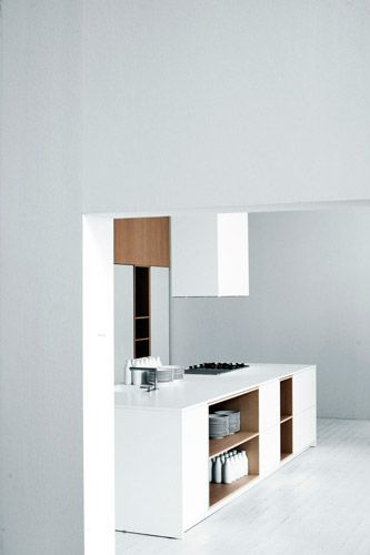 *kitchen design, modern interiors, minimalism, white* - Elisa Ossino Studio : exhibitions/events