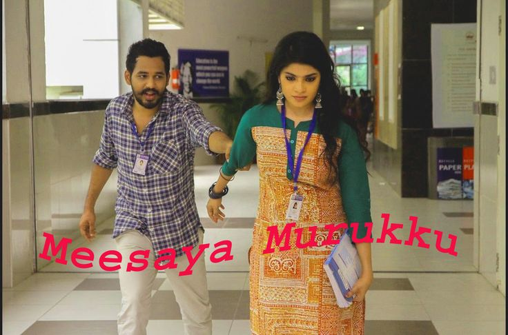 The Latest Meesaya Murukku Full Movie free download .Star name of this movie Adhi,Aathmika,Vivek.