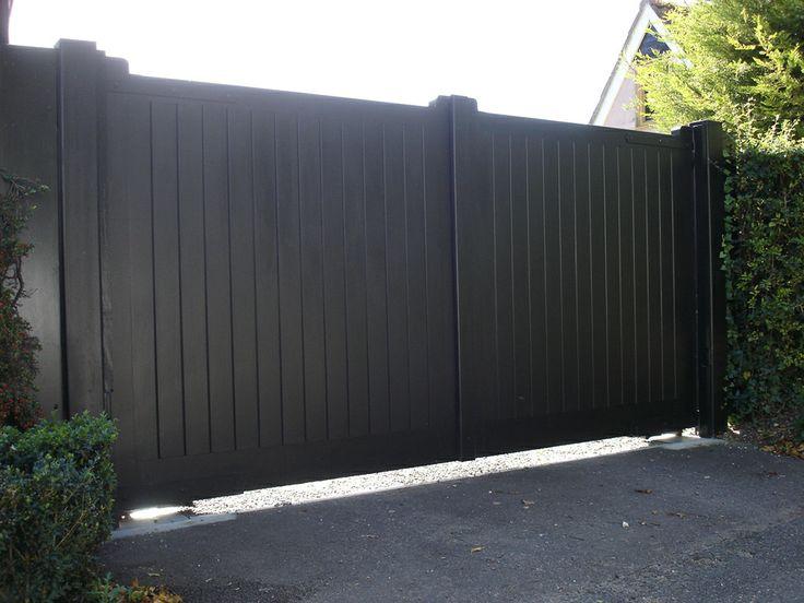 36 best driveway gates images on pinterest driveway gate for Best driveway gates