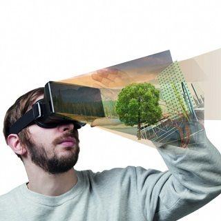 Zestaw Wirtualnej Rzeczywistości na smartfona  #smartfon #gadżety #vr