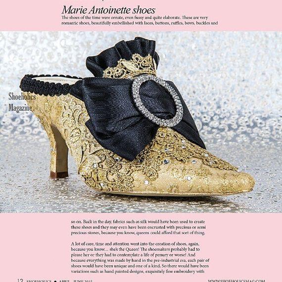 Zapatos de Novia de Marie Antoinette... por TessHarrissDesigns