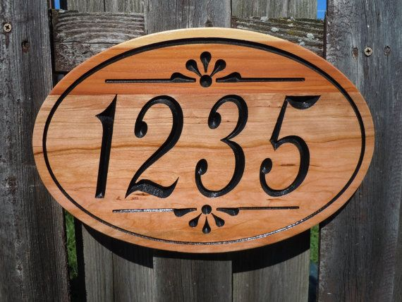 House Address Signs Wood Easy Craft Ideas