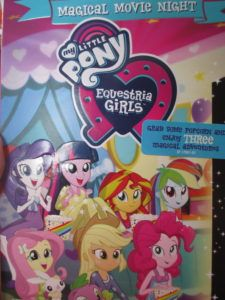 My Little Pony DVD MY LITTLE PONY EQUESTRIA GIRLS MAGICAL MOVIE NIGHT GIVEAWAY Kids movie