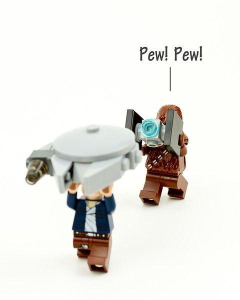 Ahora caigo Chewie!! Jajaja!!